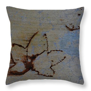 Throw Pillow featuring the photograph Chasing Winter by Jani Freimann