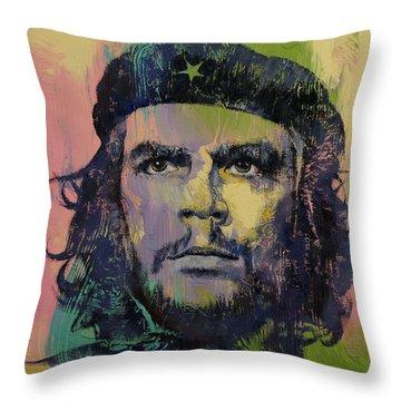 Che Guevara Throw Pillow