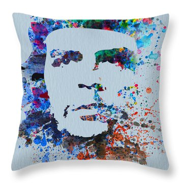 Che Throw Pillow by Naxart Studio