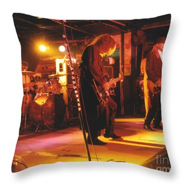 Cheap Trick-93-stage Throw Pillow by Gary Gingrich Galleries
