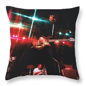 Cheap Trick-95-rick-3 Throw Pillow by Gary Gingrich Galleries