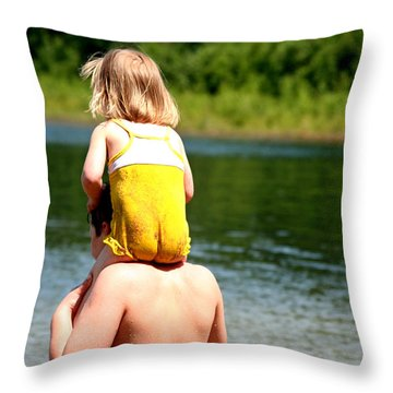 Cheekies Throw Pillow
