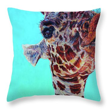 Cheeky Gina Throw Pillow