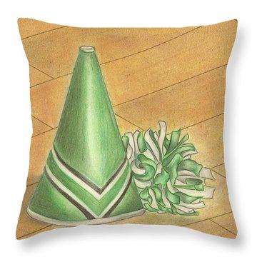 Cheer Throw Pillow