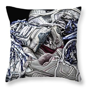 Cheer You On Throw Pillow by John Crothers