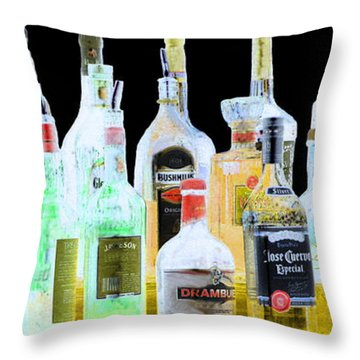 Cheers Throw Pillow by Cheryl Del Toro