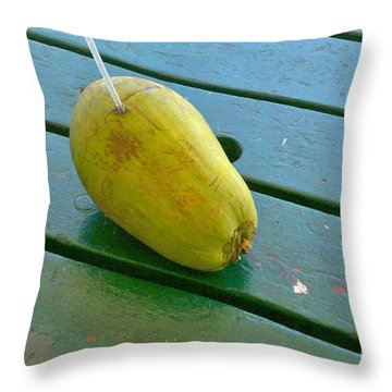 Cheers From Key West Throw Pillow