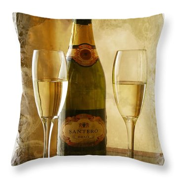 Cheers Throw Pillow by Lucinda Walter