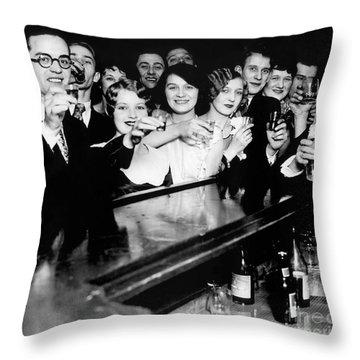 Cheers To You Throw Pillow by Jon Neidert