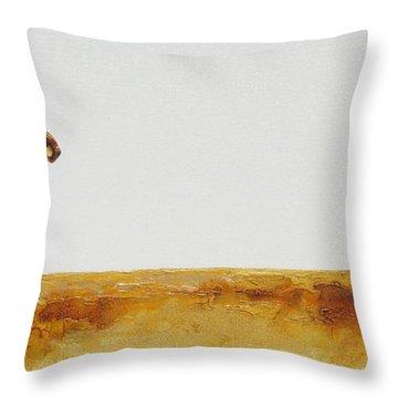 Cheetah Race - Original Artwork Throw Pillow