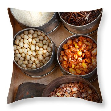 Chef - Food - Health Food Throw Pillow by Mike Savad
