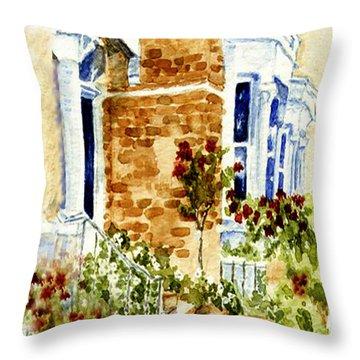 Chelsea Row Throw Pillow