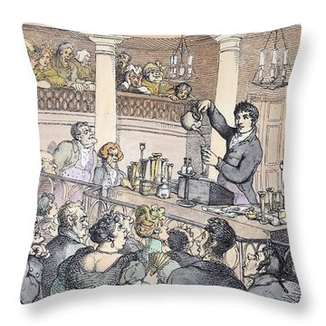Chemical Lectures Throw Pillow