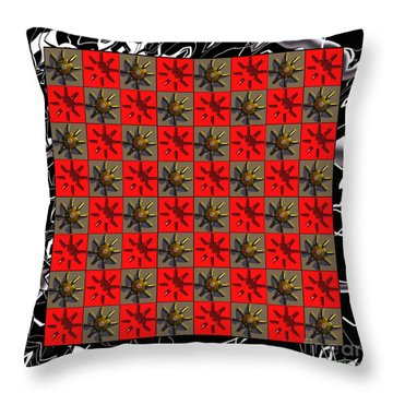 Chequers Throw Pillow