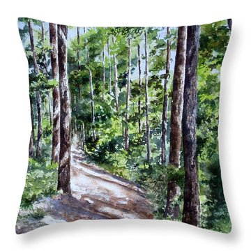 Cheraw Trail Throw Pillow