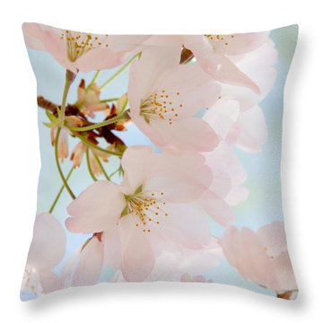 Cherry Blossoms 2 Throw Pillow
