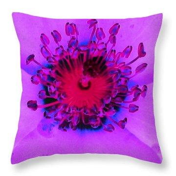 Cherry Pie Rose - Photopower 2827 Throw Pillow