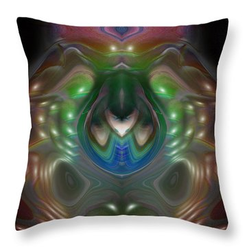 Cherub 5 Throw Pillow