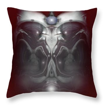 Cherub 7 Throw Pillow