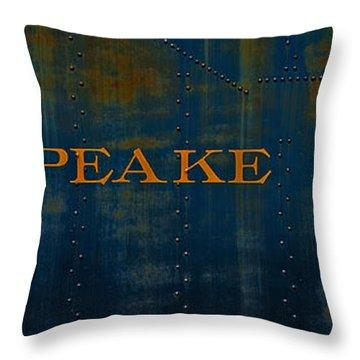 Chesapeake And Ohio Throw Pillows