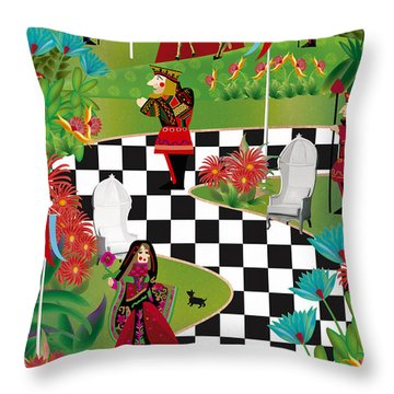 Chess Festival - Limited Edition 2 Of 20 Throw Pillow