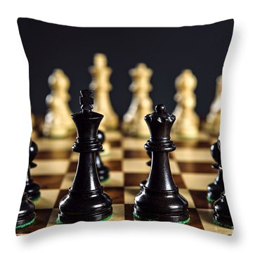 Chess Throw Pillows