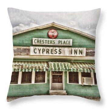 Chester's Place Throw Pillow by Scott Pellegrin