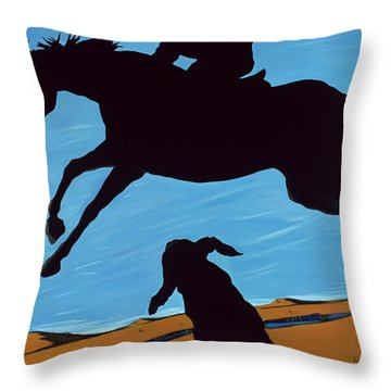 Chestertown Trials, 1999 Throw Pillow