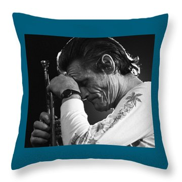 Chet Baker 1 Throw Pillow