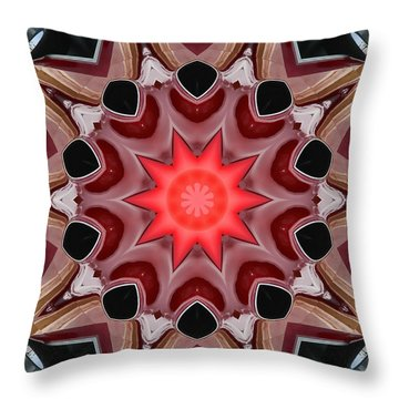 Chevelle Kaleidoscope Throw Pillow by Victor Montgomery