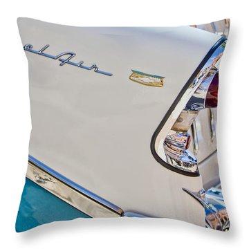 Chevrolet Bel-air Taillight Throw Pillow by Jill Reger