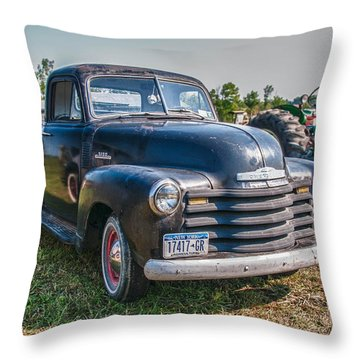 Chevy 1100 Throw Pillow by Guy Whiteley