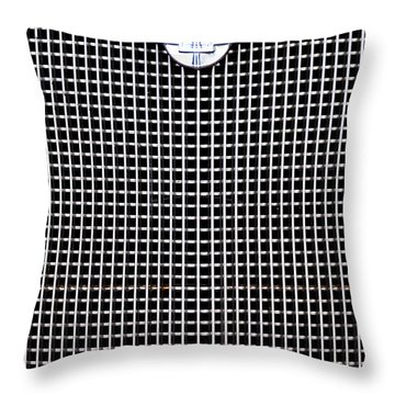 Chevy Grille Throw Pillow
