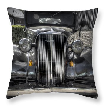 Chevy Throw Pillow by Jean Noren