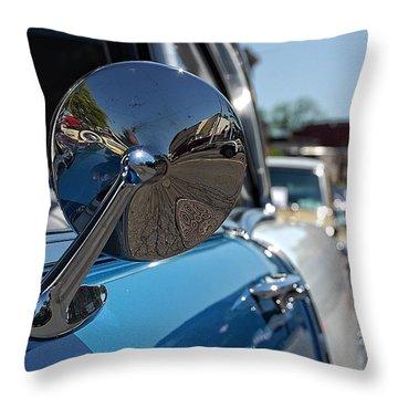 Chevy Mirror Throw Pillow