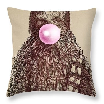 Big Chew Throw Pillow