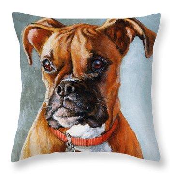 Cheyenne Throw Pillow by Richard De Wolfe