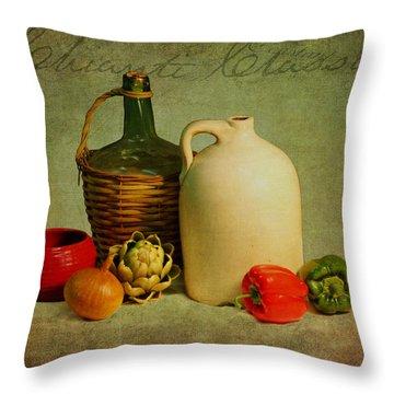 Chianti Classico Throw Pillow