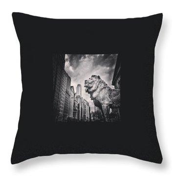 America Throw Pillows