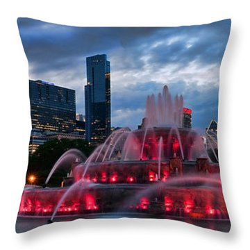 Fountain Throw Pillows