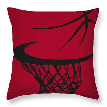 Chicago Bulls Hoop Throw Pillow