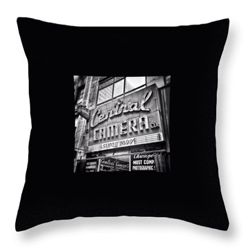 Landmarks Throw Pillows