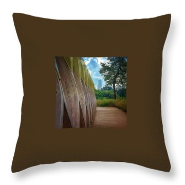 The Boardwalk Throw Pillows