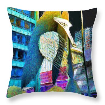 Chicago Picasso Throw Pillow