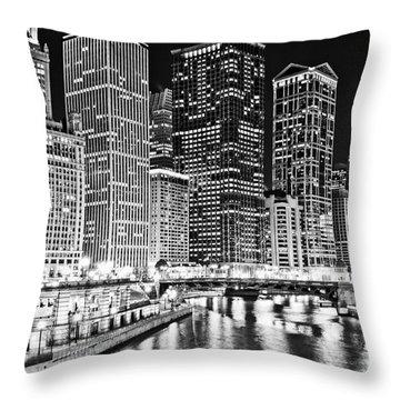 Wabash Avenue Throw Pillows
