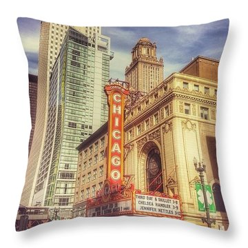 City Scenes Throw Pillows