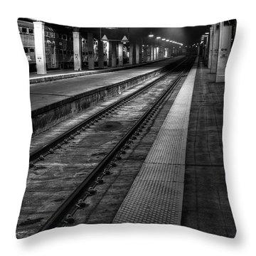 Station Throw Pillows