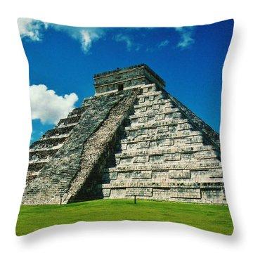 Chichen Itza Throw Pillow