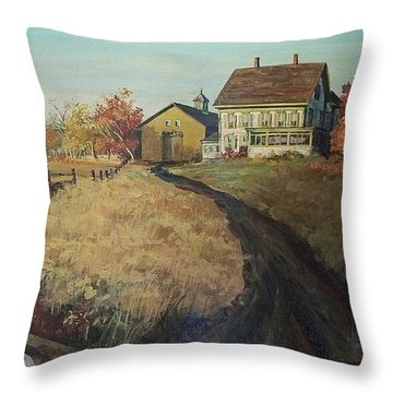 Chichester Cut-off Throw Pillow