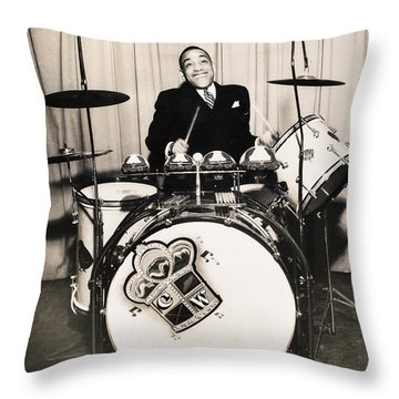 Chick Webb (1909-1939) Throw Pillow by Granger